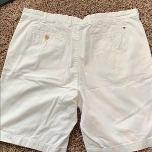 Tommy Hilfiger White Khaki Shorts